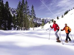 Snowshoewalking in Leogang